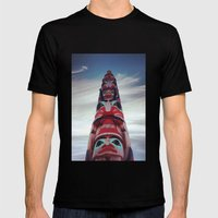 Looking Up Mens Fitted Tee Black SMALL