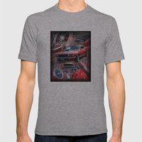 1969 Mustang Mach 1 CJ Mens Fitted Tee Athletic Grey SMALL