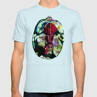 Head (Anatomy 08) Mens Fitted Tee Light Blue SMALL