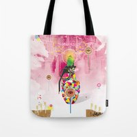 Monitored Tote Bag