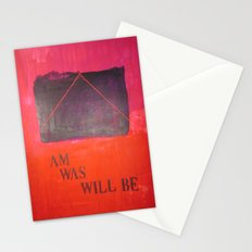 I m, I was... Stationery Cards