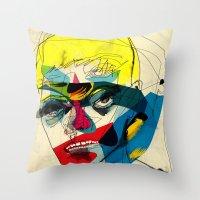 Throw Pillows featuring 041112 by Alvaro Tapia Hidalgo