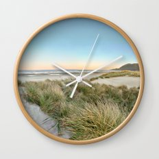 Oregon Coast Sunrise Wall Clock