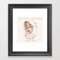 Yours Truly Framed Art Print
