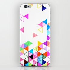 Falling Into Place iPhone & iPod Skin