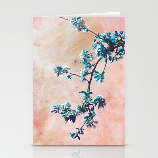 FIRST SPRING Stationery Card