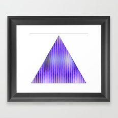 shape eye 2 Framed Art Print
