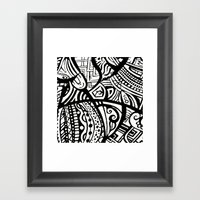 Abstractish 1  Framed Art Print