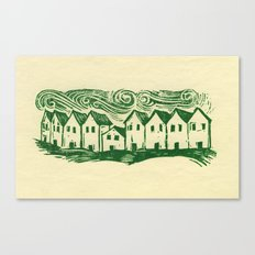 Sad Row Canvas Print