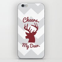 Cheers, My Deer. iPhone & iPod Skin