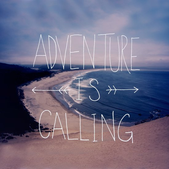 Adventure is Calling Canvas Print