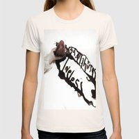And All Things Loveless Womens Fitted Tee Natural SMALL