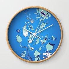 Aquatic Creatures Wall Clock