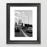 We'll Get To That Bridge… Framed Art Print