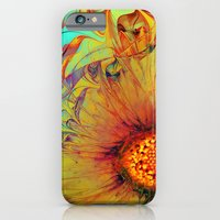 Sunflower Abstract iPhone 6 Slim Case