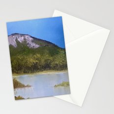 Mountain Lake I Stationery Cards