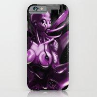 iPhone & iPod Case featuring PrazerBot by GreenEyedPaintGuy