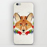 Spring Fox  iPhone & iPod Skin