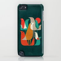 iPhone Cases featuring Flock of Birds by Budi Kwan