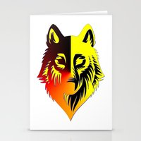 The Solar Wolf Stationery Cards