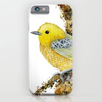Yellow Warbler Tilly iPhone 6 Slim Case