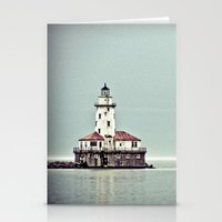 Chicago Harbor Lighthous… Stationery Cards