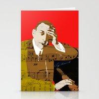 Sergei Rachmaninov Stationery Cards