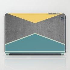 Concrete & Triangles III iPad Case