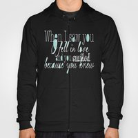 When I Saw You (Mint) Hoody