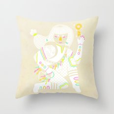 Keeper of the Keys Throw Pillow