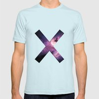 XX Mens Fitted Tee Light Blue SMALL