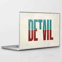 rock Laptop & iPad Skins featuring Devil in the detail. by David