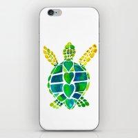 Turtle Love iPhone & iPod Skin