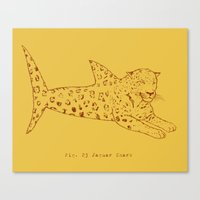 Jaguar Shark Canvas Print