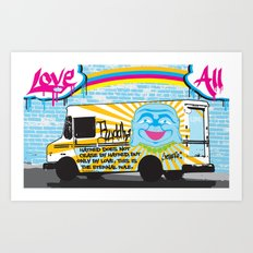 Love All Art Print