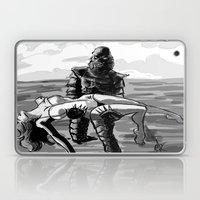 Black Lagoon (B&W)... Laptop & iPad Skin
