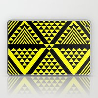 Black & Yellow Laptop & iPad Skin