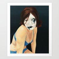Clown Laid Bare #2 Art Print
