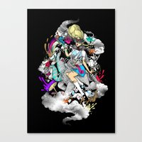 Alice Is Not In Wonderland Canvas Print