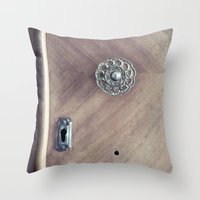 under lock and key... Throw Pillow