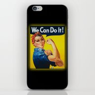 We Can Do It iPhone & iPod Skin