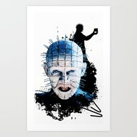 Pinhead: Monster Madness… Art Print