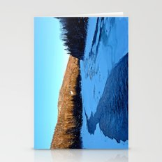 Frozen Mountain River Stationery Cards