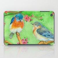 Bluebirds iPad Case