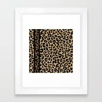 CLASSIC LEOPARD SKIN Framed Art Print