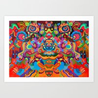 Cynosure Art Print