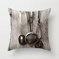 KITCHEN EQUIPMENT - Dupl… Throw Pillow