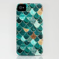 iPhone 4s & iPhone 4 Cases featuring REALLY MERMAID by Monika Strigel
