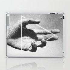 hand + triangle Laptop & iPad Skin