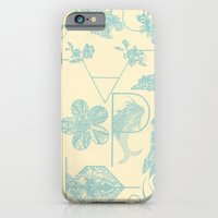 Letters in blue iPhone 6 Slim Case
